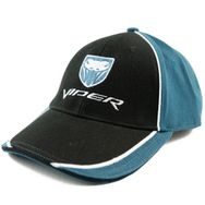 Dodge Viper Two Tone with Snake Logo Hat (Black & Blue)