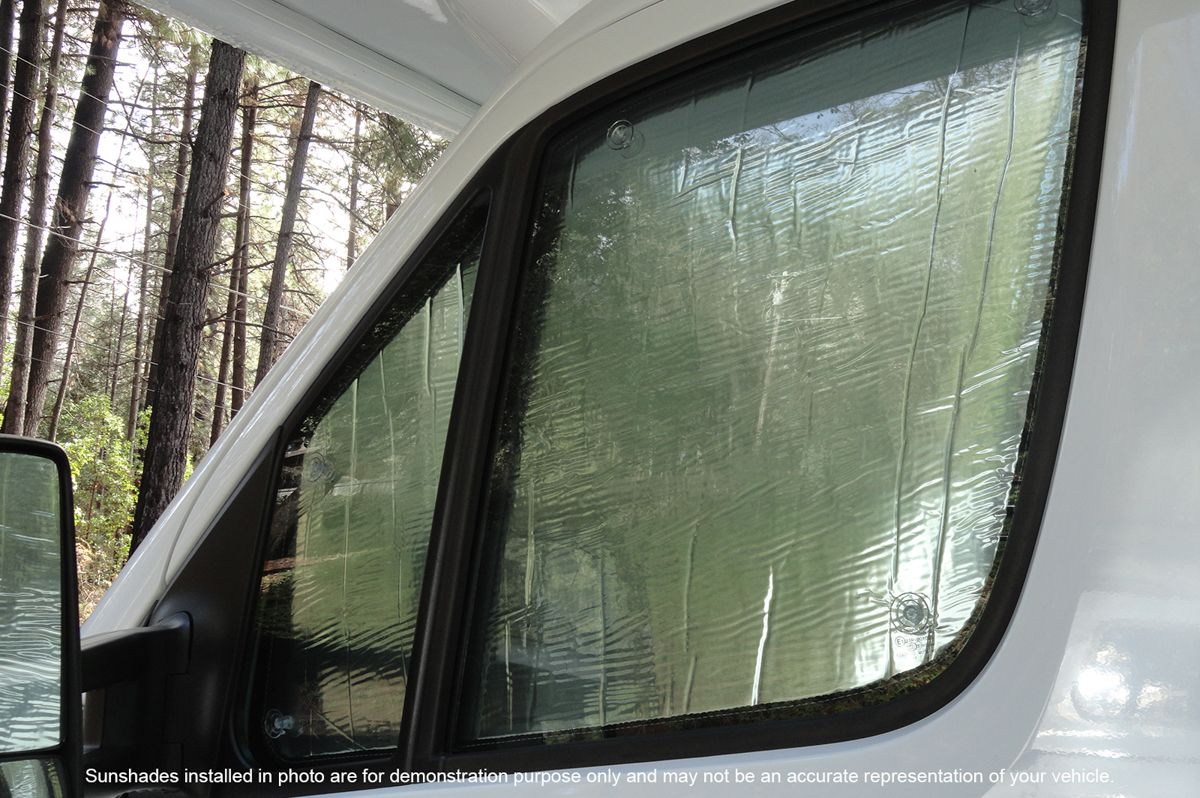 Freightliner Sprinter Motorhome RV Windshield SunShade Set