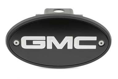 GMC Black Receiver Hitch Cover