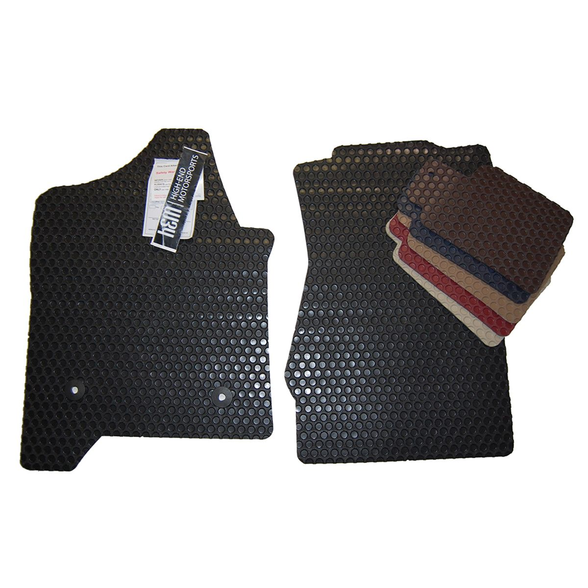 GMC Sierra Denali All Weather Rubber Floor Mats 2000