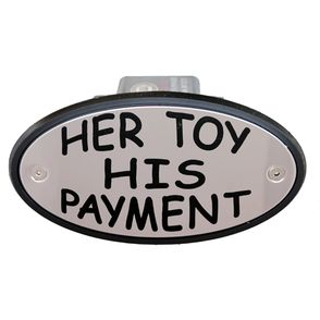 Her Toy His Payment Receiver Cover