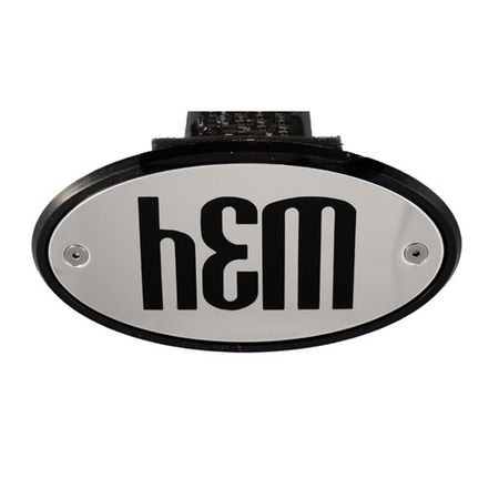 High-End Motorsports Chrome Hitch Cover