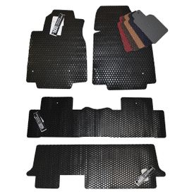 Honda Pilot Custom All Weather Rubber Floor Mats