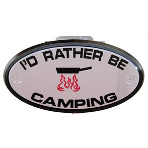 I'd Rather be Camping Receiver Cover