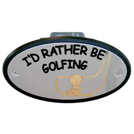 I'd Rather be Golfing Receiver Cover