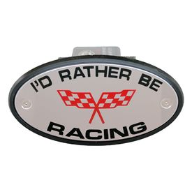 I'd Rather be Racing Receiver Cover