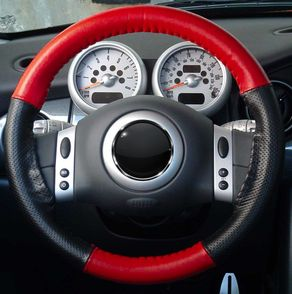 Genuine Leather Steering Wheel Cover