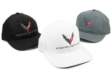 New 2020 C8 Corvette Performance Hats