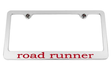 Plymouth road runner Chrome License Plate Frame
