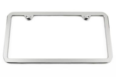 Thin Chrome License Plate Frame