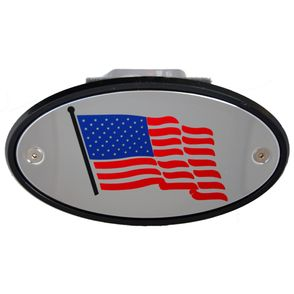 USA Flag Hitch Cover