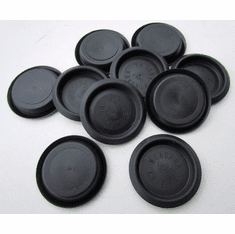 "1-3/4"" Nylon HOLE PLUGS Depressed Center Plugs Buttons"