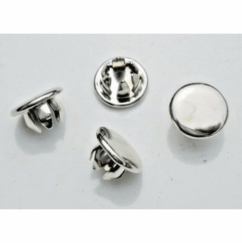 """1/4"""" Nickel Plated HOLE PLUGS Plug Buttons (10) Boat Car Truck Panel Plugs"""