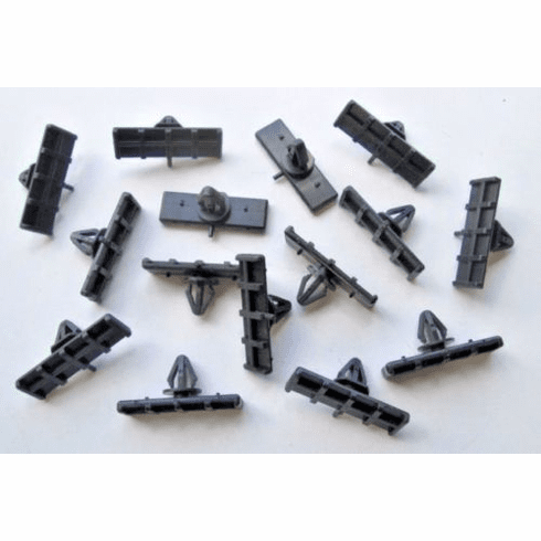 1994-1995-1996-1998 Ford Mustang Ground Effect Moulding Clips (15)1999-2005