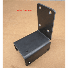 "2"" Metal Steel Purlin Chairs fits 2"" Square Tubing Mounting Brackets"