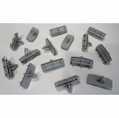 2005-On Jeep Liberty Fender Flare Moulding Clips (15)