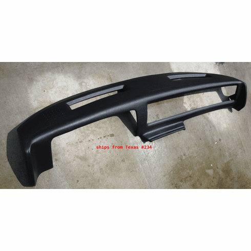 3/4 Dash Cover fits 1981 - 1988 Chevy El Camino, Monte Carlo & Malibu With Outside Speakers