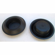 "3/4"" Hole Plugs Polyethylene Depressed Center"