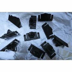 Chevrolet Hummer 2006-On Rocker Panel Moulding Clips (10)