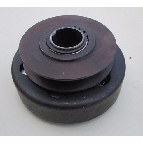 """Groove Centrifugal Clutch Drive Pulley 1"""" Bore Go Cart Sawmill Lawnmower"""