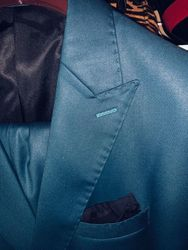 Angelino Classic Suit2 Steel Blue