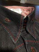 Angelino Denim Shirt fits size 17.5 - 18