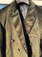 Angelino Olive Velvet Blazer fits 40slim fit