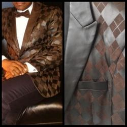 Angelino Umberto Brown Blazer