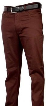 Brown Straight Leg Jeans