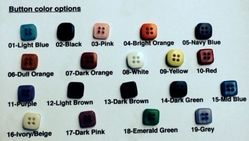 Button Change Option (19 colors- for ordered shirt)