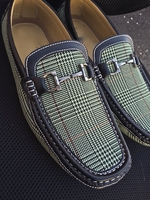 Glen Plaid loafer (Apple)