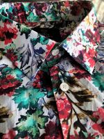 H&C Floral Shirt XL slim fit
