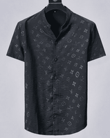 Short Sleeve LV Shadow fabric shirt fits size L