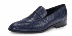 Mauri 4878 SERIO Ostrich Leg and Baby Crocodile Shoes