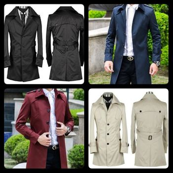 Modern Trench Coat (4 colors)
