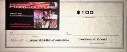 MorCouture $100 Gift Certificate