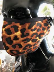 MorCouture leopard Mask