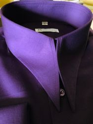 MorCouture Purple Angel Wing Shirt