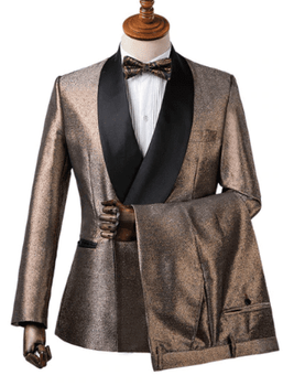 Pewter Shawl Collar Tuxedo -special order