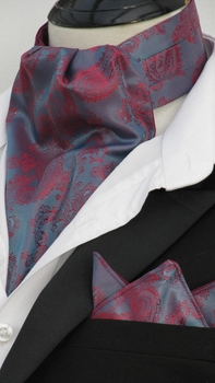 Premiere Paisley Ascot w/Hanky (Excalibur collection)