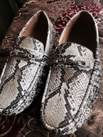 Snake Print Shoe (Brown/Ivory)