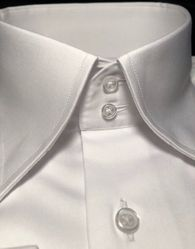 White 2 Button Collar Shirt