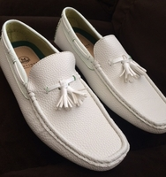 White Driving Shoe