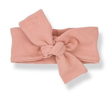 1 + Family in the Family Bandeau Headwrap Rose