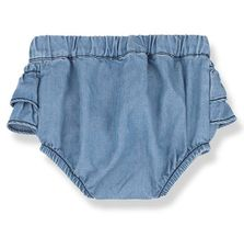 1 + Family in the Family Denim Baby Bloomer (Sizes 3Mos to 12Mos)