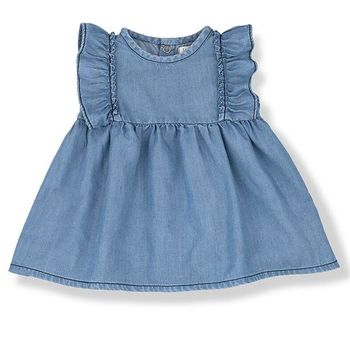 1 + Family in the Family Denim Dress (Size 3Mos)
