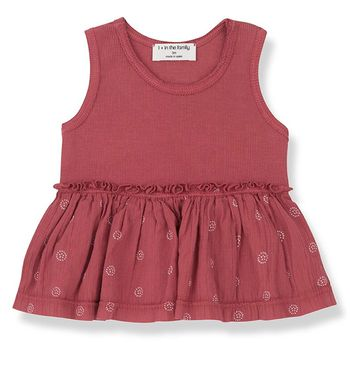 1 + Family in the Family  Sleeveless Top Baby (9Mos & 24Mos)