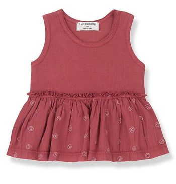 1 + Family in the Family  Sleeveless Top Baby (3Mos,6Mos,9Mos,18Mos,24Mos)