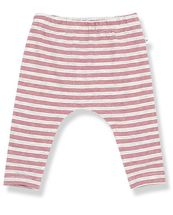 1 + Family in the Family Stripe Leggings in Rust (Sizes 3Mos to 24Mos)
