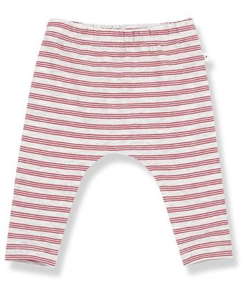 1 + Family in the Family Stripe Leggings in Rust (Sizes 3Mos to 18Mos)
